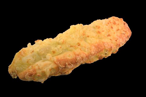Kaas-uien stokbrood