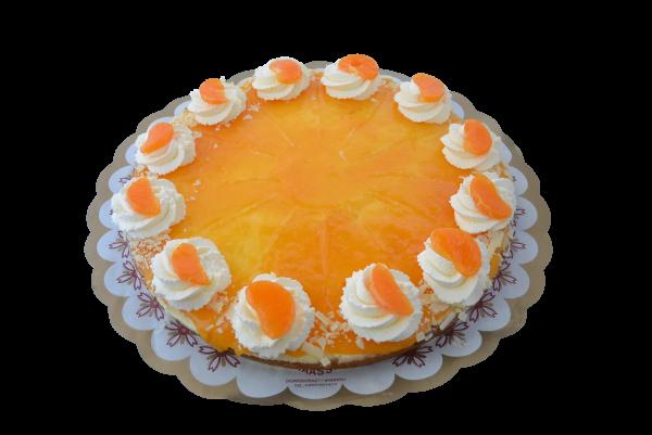 Sinaasappel vlaai (12 pers)