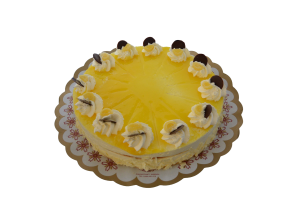 Citroenbavarois taart (12 pers)