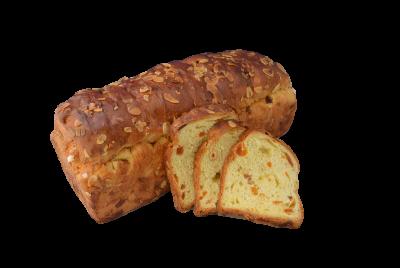 Abrikozen-Noten brood