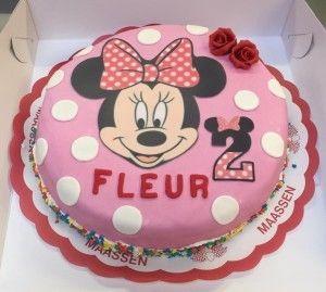 Minnie Mouse fondant meisje